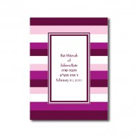 Cover Design Pink Horizontal Stripes