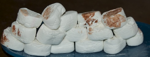 Building a Marshmallow kotel via Birkat Chaverim