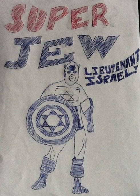 Courtesy A. Harris Comic Strip Hero