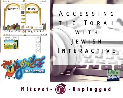 Accessing the Torah with Jewish Interactive a guest post for mitzvot unplugged via birkat chaverim.
