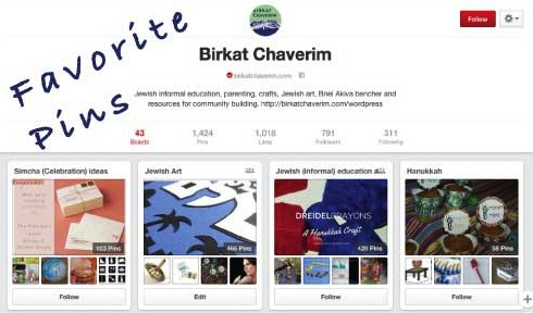 favorite pinterest pins Hanukkah from Birkat Chaverim