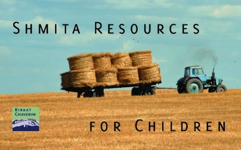 Some shmita resources for children via birkatchaverim.com