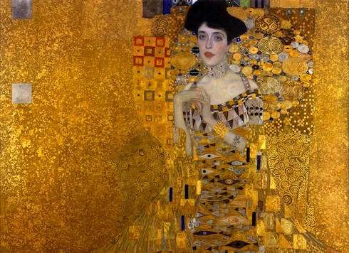 A Guide to Woman in Gold, based on the art restitution case of Maria Altmann , the niece of Adele Bloch Bauer, who is in the Klimt painting.