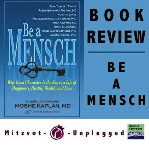 Be A Mensch Book Review