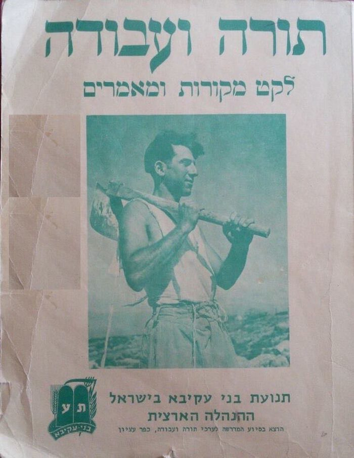 Torah V'Avodah Source book cover with photo of David Daube