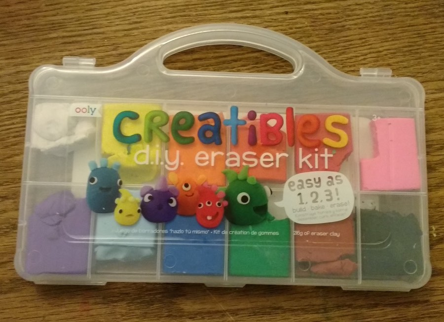 Creatibles Eraser kit used for hanukkah erasers