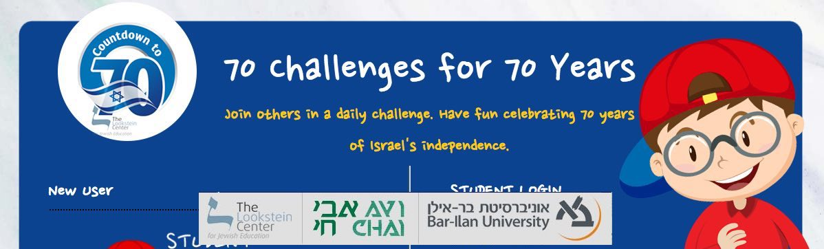 Detail from the 70 Challenges fo r70 Years Website