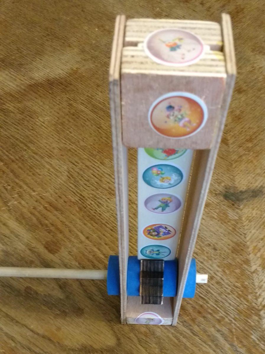 Plywood kid engineered gragger detail