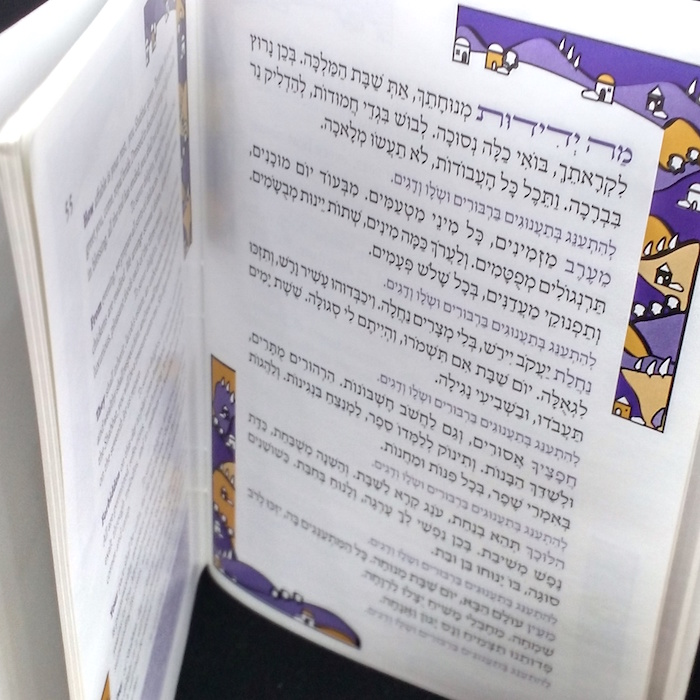Bnei Akiva Birkon- Black ink printed cover - Click Image to Close