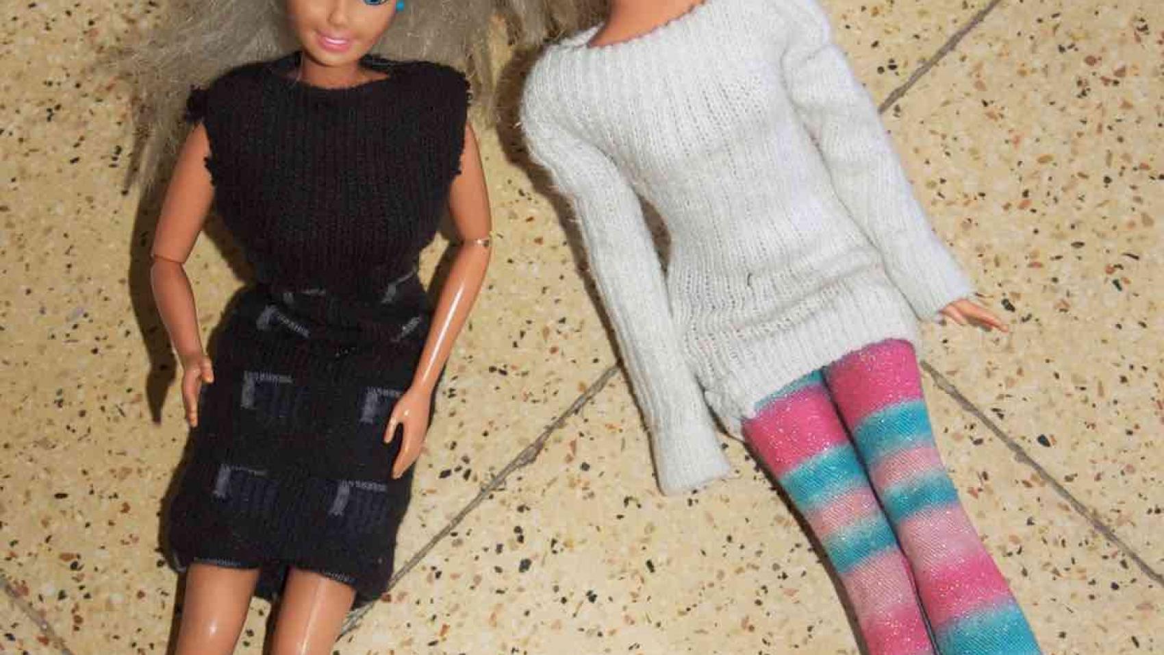 Barbie sock clothing