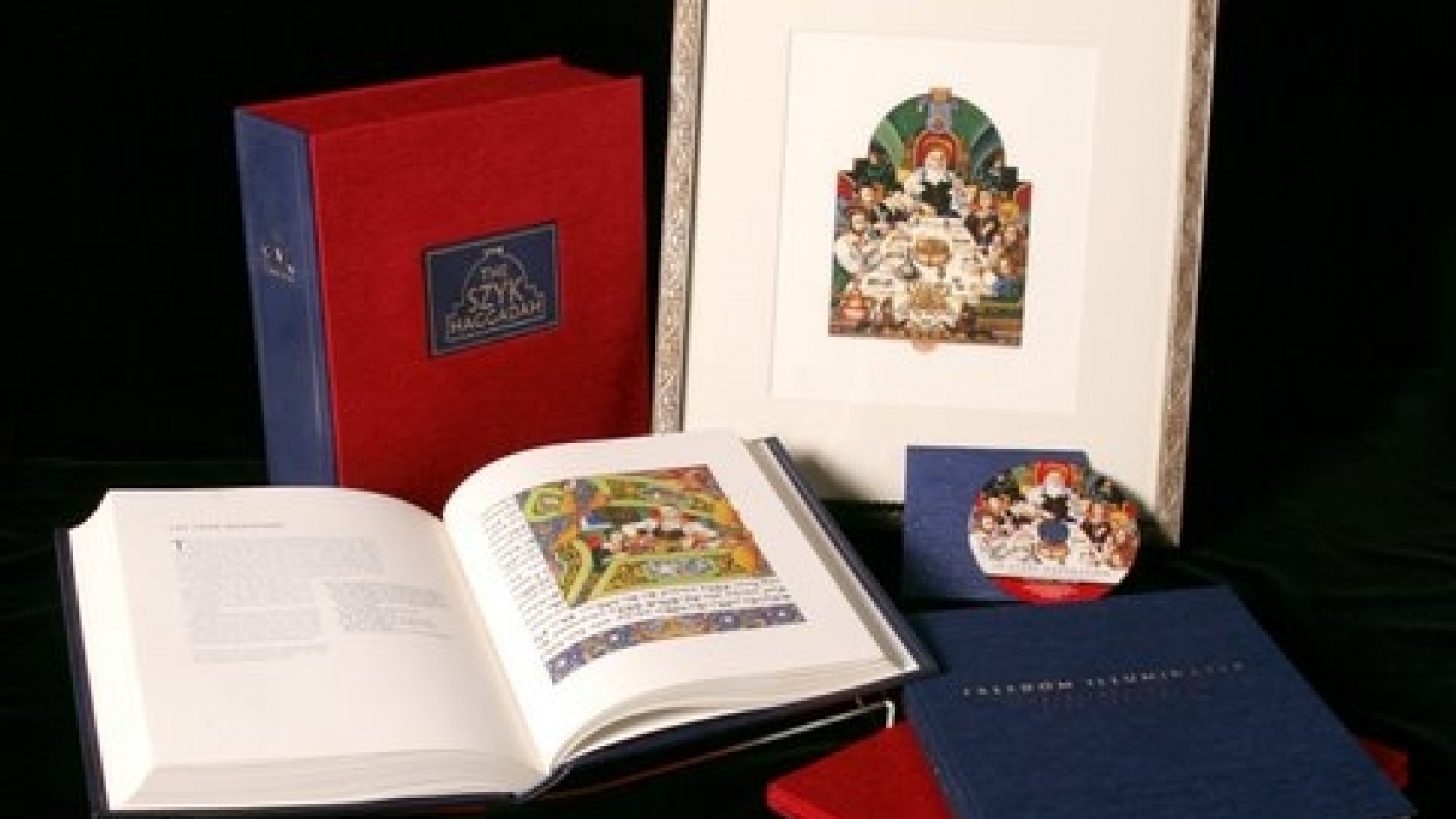 New Edition of The Szyk Haggadah courtesy Historica