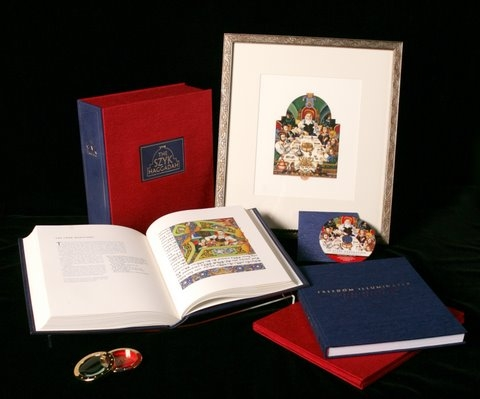 New Edition of The Szyk Haggadah courtesy Historica