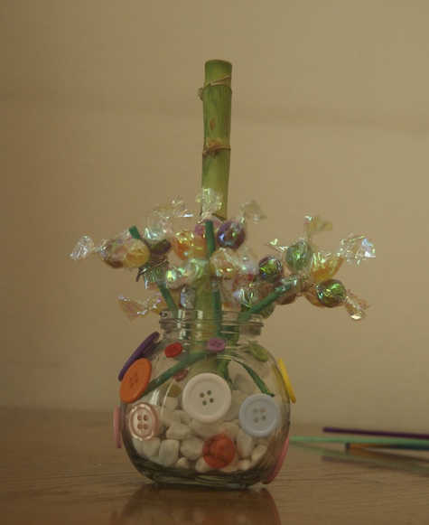 candy flower arrangement