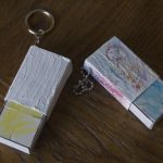 Matchbox keychain building game