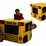 Table Fables School Bus Playhouse