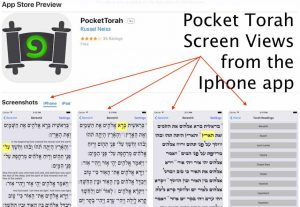 pocket torah screen