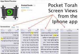 pocket torah screen