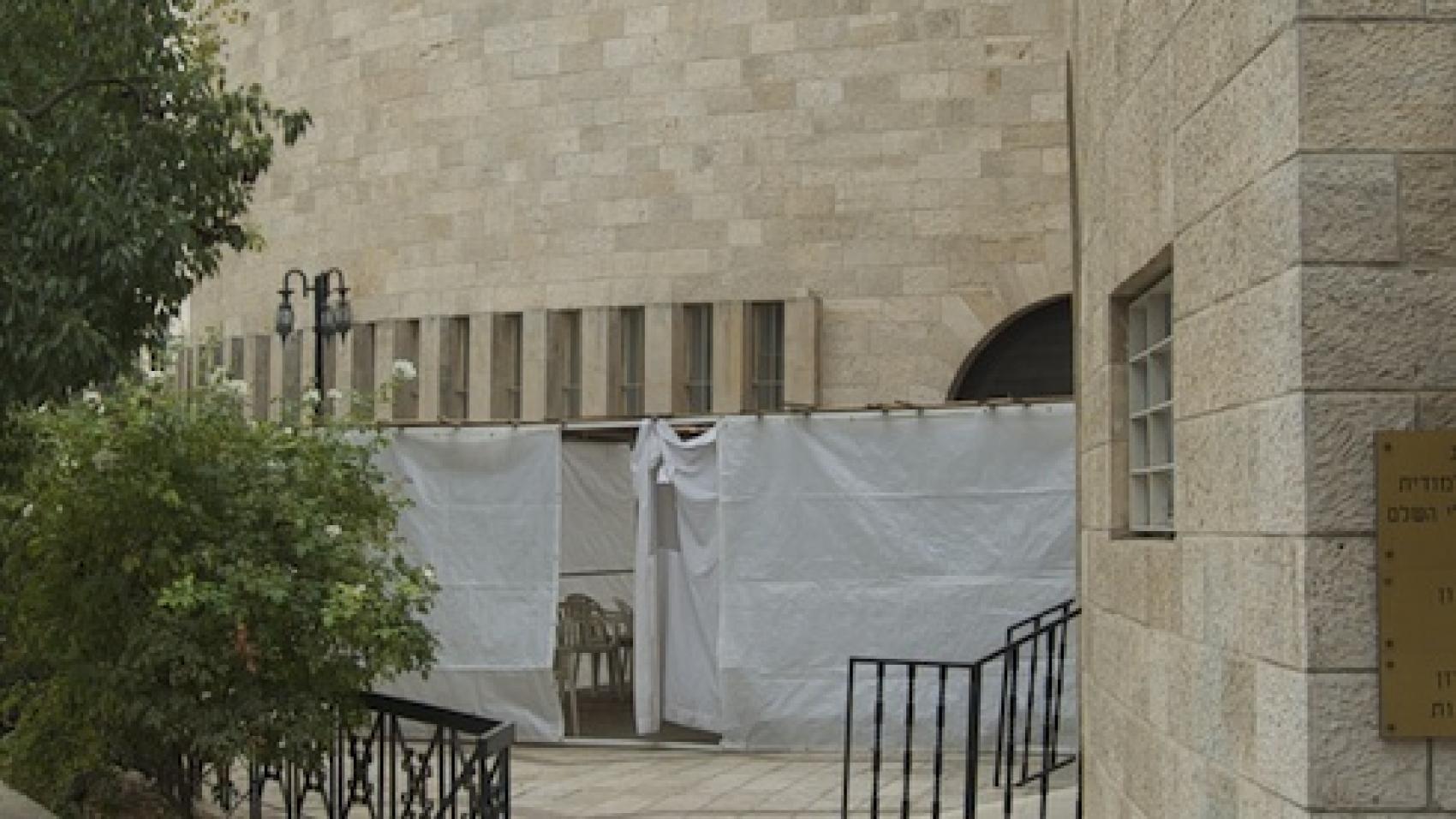 yeshurun synagogue sukkah