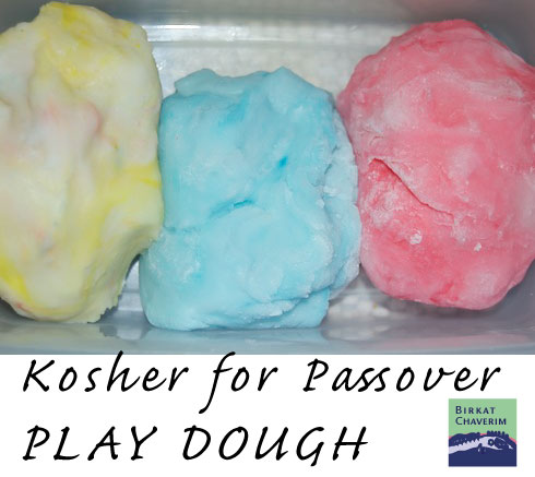 Playdough without flour