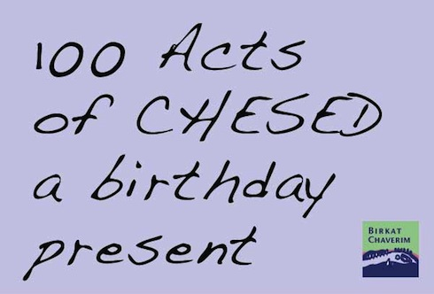 100 Acts of Kindness in honor of Anna Yuters 100th birthday