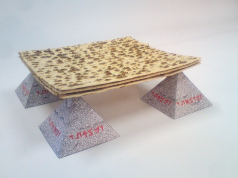 ken goldman matzah origami- all rights reserved Ken Goldman