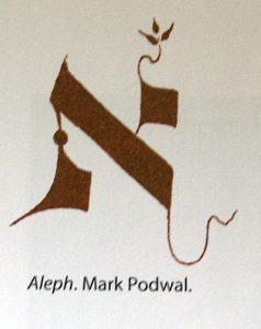 mark podwal aleph image courtesy Toby press