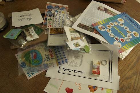 Israel Cultural exchange kid package via birkat chaverim