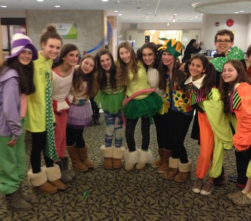 Group photo Areyvut Mitzvah Clowns via birkat chaverim