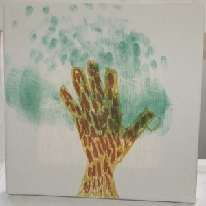hand print tree via birkat chaverim