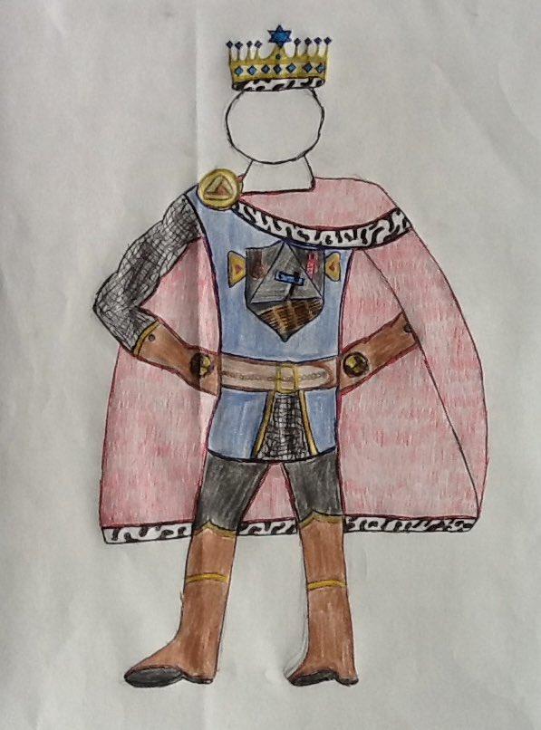 purim costume for hero by Adam Harris