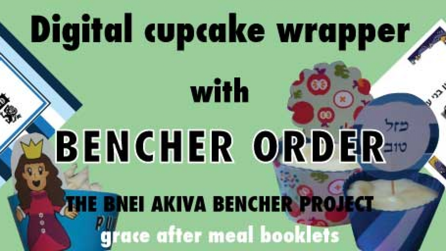 Special through July 14th, Digital cupcake wrapper with birkon order