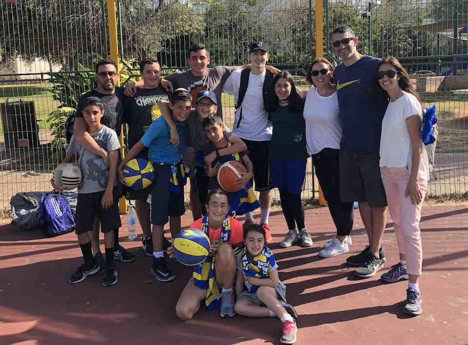 Family enjoying the Sports Rabbi's Experience