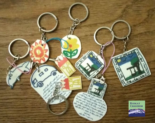 keychains from shrink plastic
