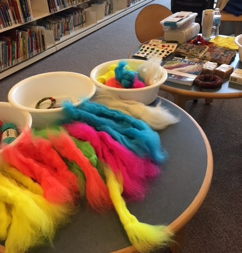 Preparing for a Feel the Felt Workshop