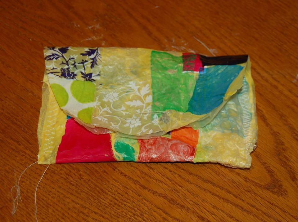 Tween made plastic bags bag