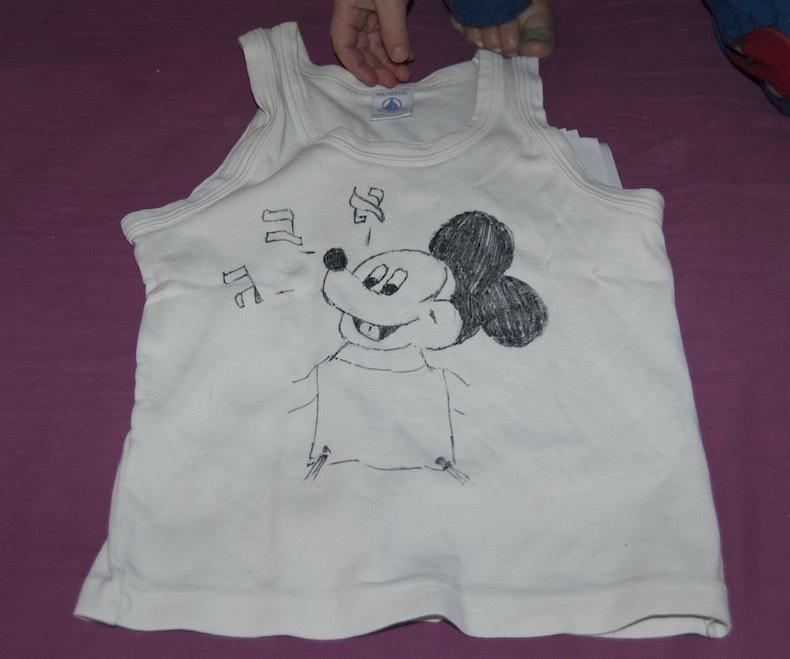 Mickey Tzitzit Design