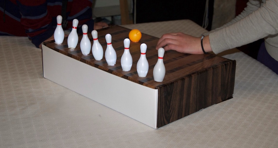 hanukkah bowling lamp project